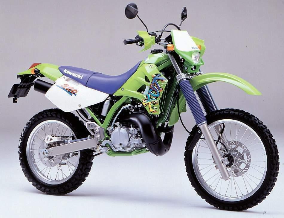 Moto del día: Kawasaki KDX 220 R