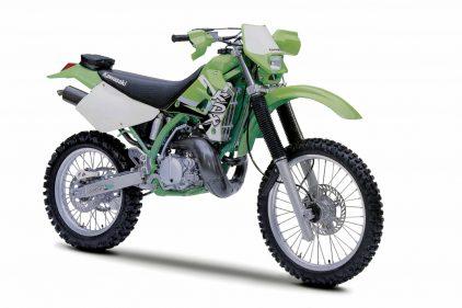 Kawasaki KDX 220 R 2