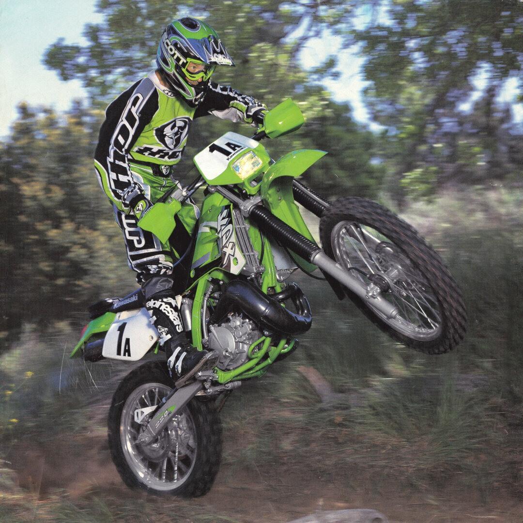 Kawasaki KDX 220 R 3