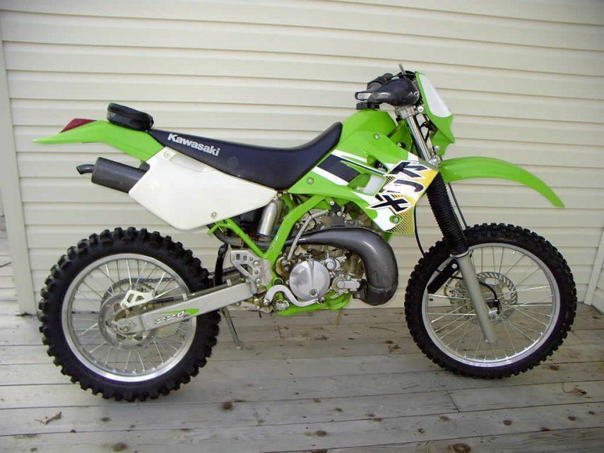 Kawasaki KDX 220 R 4