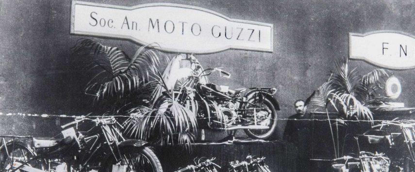 Moto Guzzi exposicion