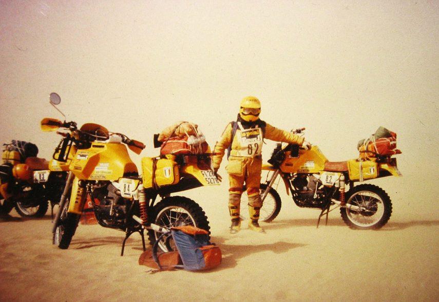 Moto Morini 500 Camel en Dakar