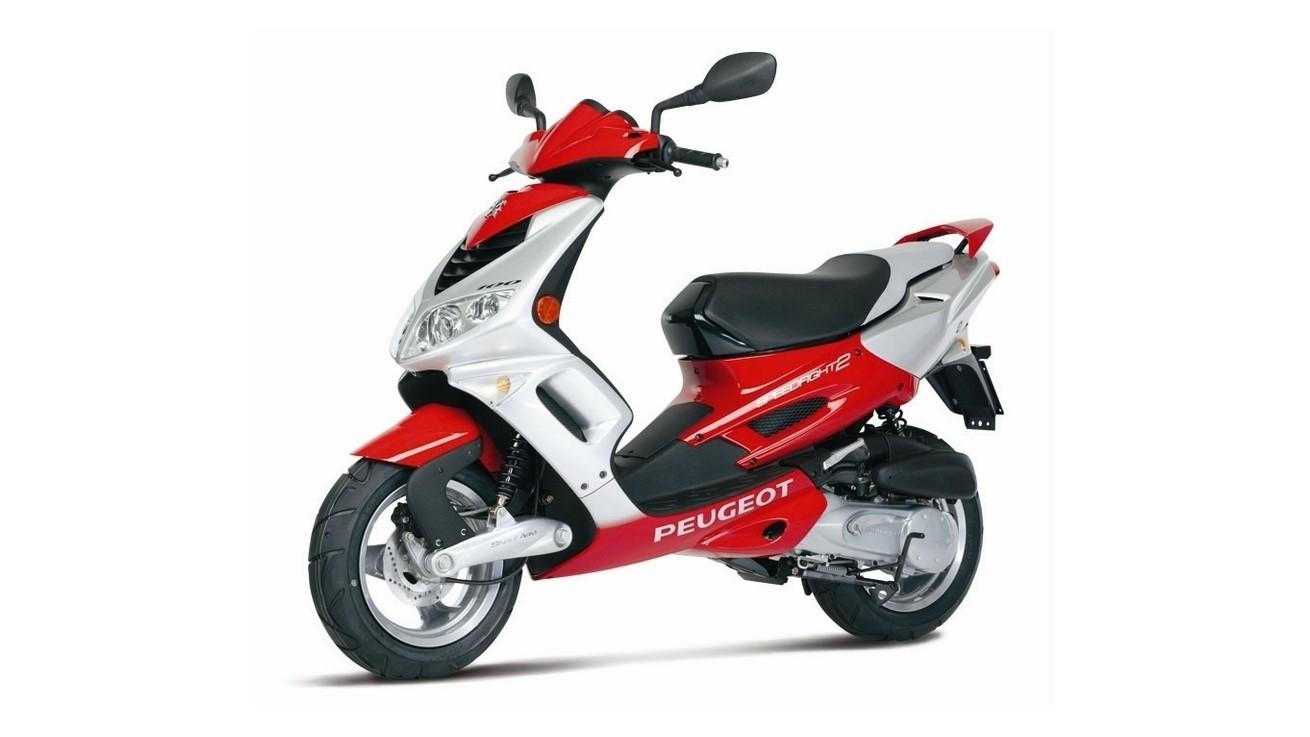 Moto de día: Peugeot Speedfight 50
