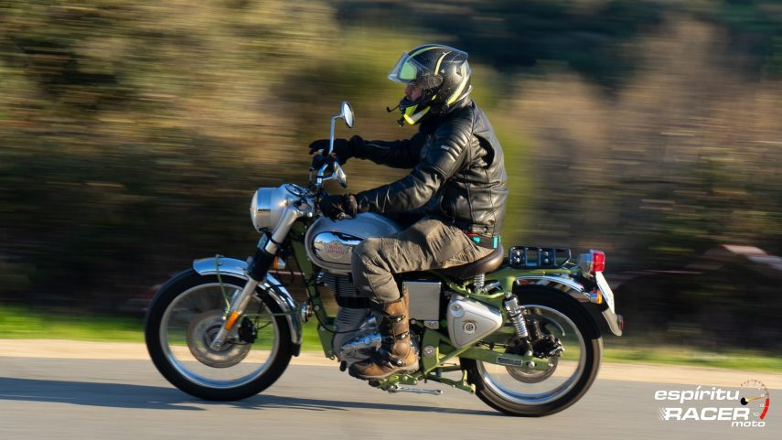 Prueba: Royal Enfield Bullet Trials 500
