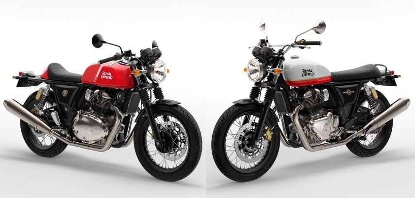Las Royal Enfield Continental GT 650 2021 e Interceptor 650 2021 ya son Euro 5
