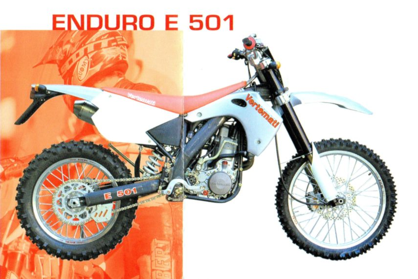 Moto del día: Vertemati Enduro E501