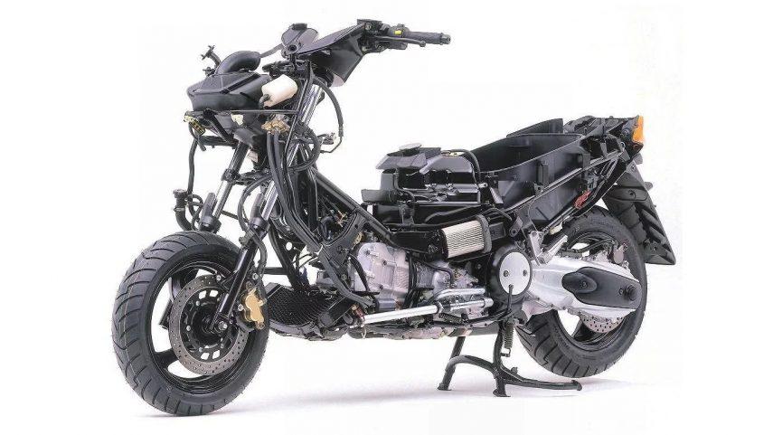 Yamaha TMax 500 2001 03