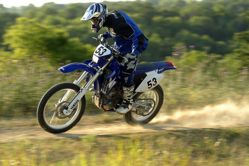 Moto del día: Yamaha WR 450 F (2003)
