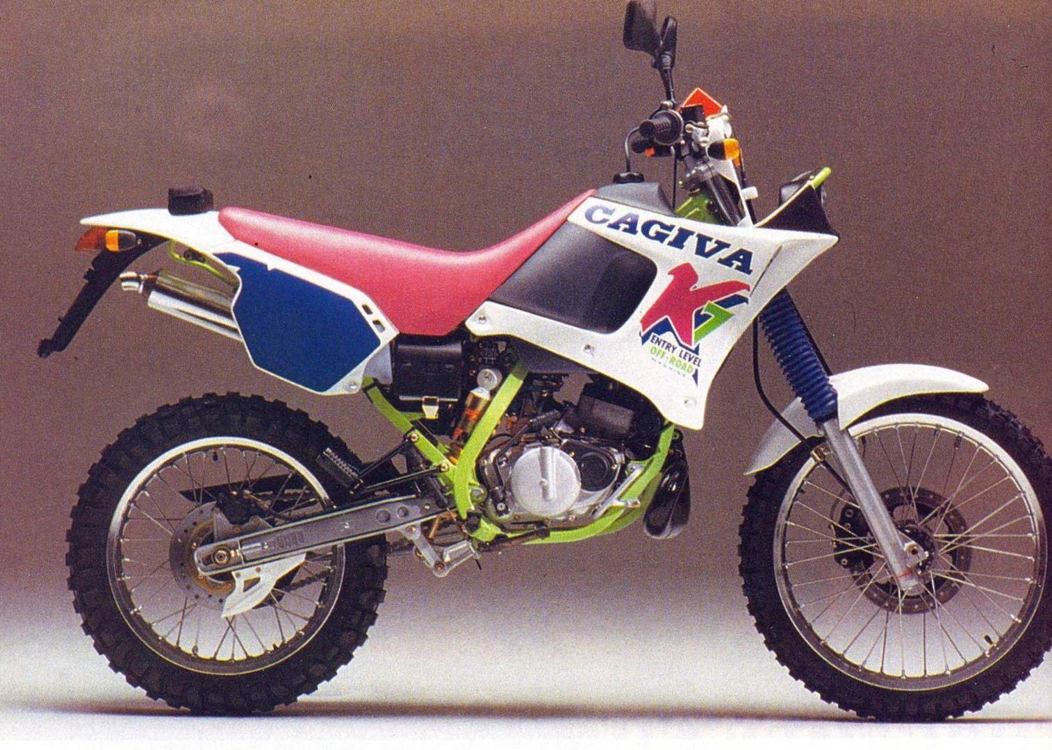 Moto del día: Cagiva K7 125