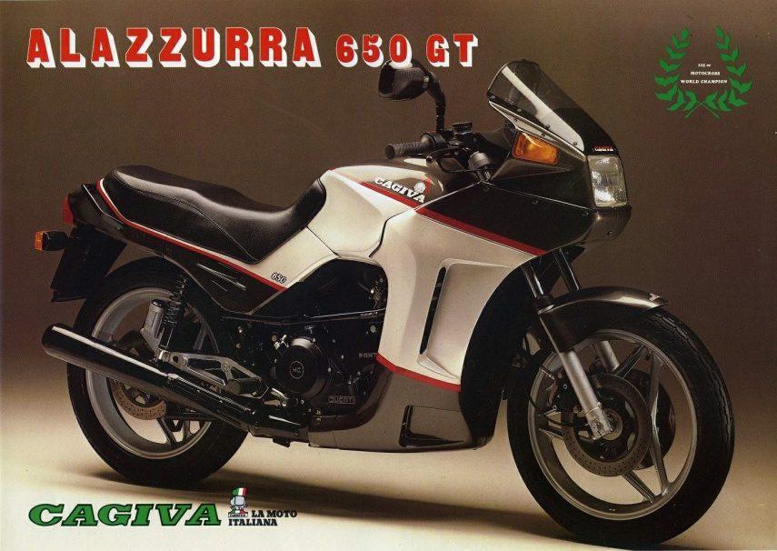 Moto del día: Cagiva Alazzurra 650