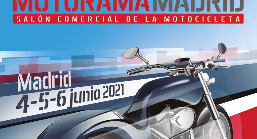 Cartel Motorama Madrid 2021