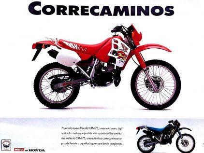 Honda CRM 75 R