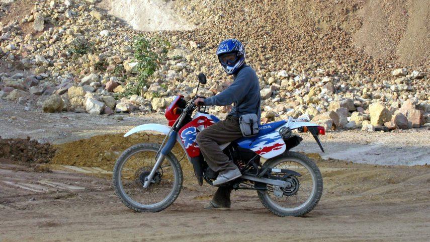 Honda CRM 75 R sollero