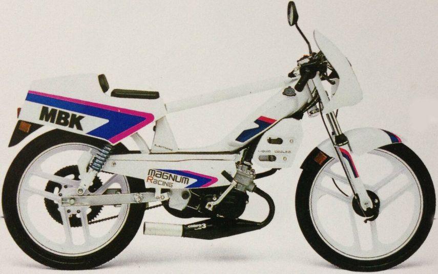Moto del día: MBK Magnum Racing