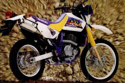 Suzuki DR 650 SE 1996 2