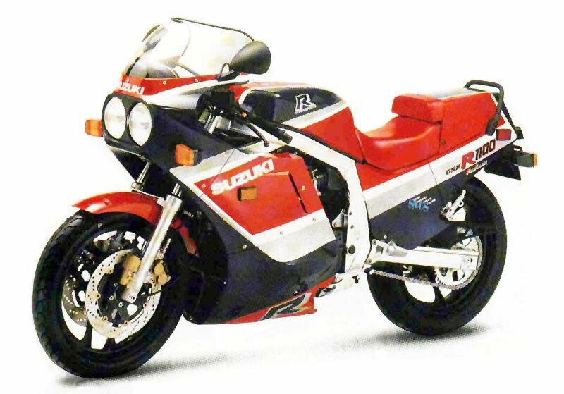Suzuki GSX R 1100 2