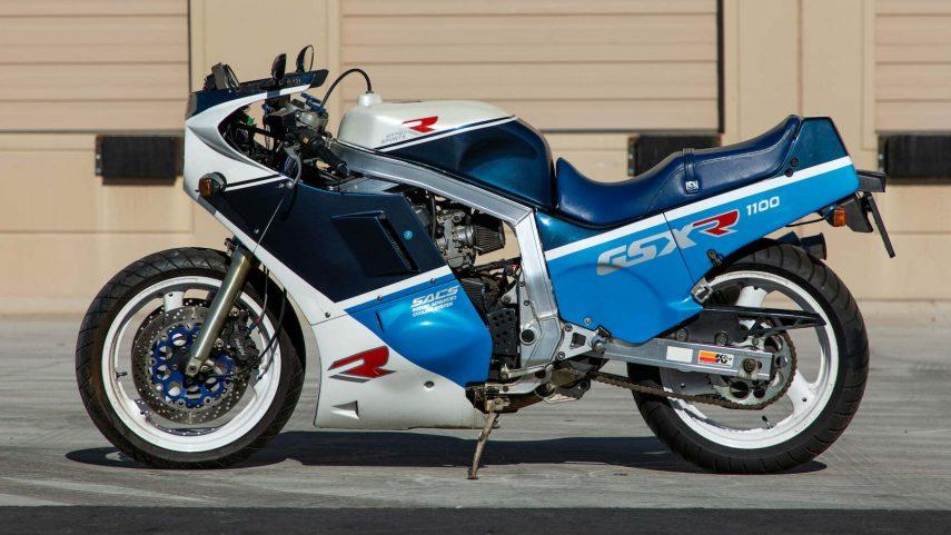 Suzuki GSX R 1100 7