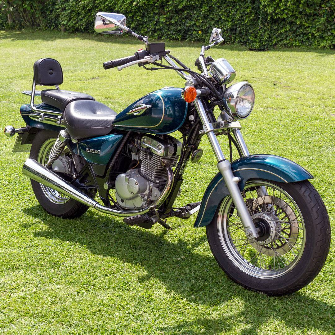 Suzuki GZ 125 Marauder 5