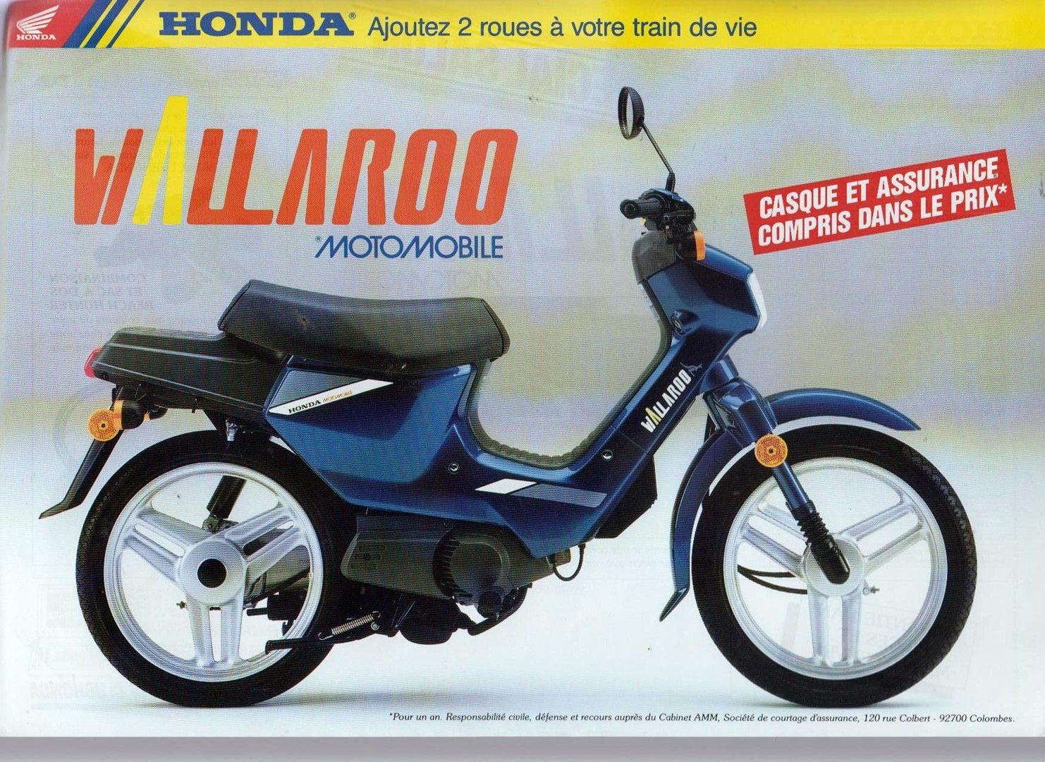 Moto del día: Honda Wallaroo 50