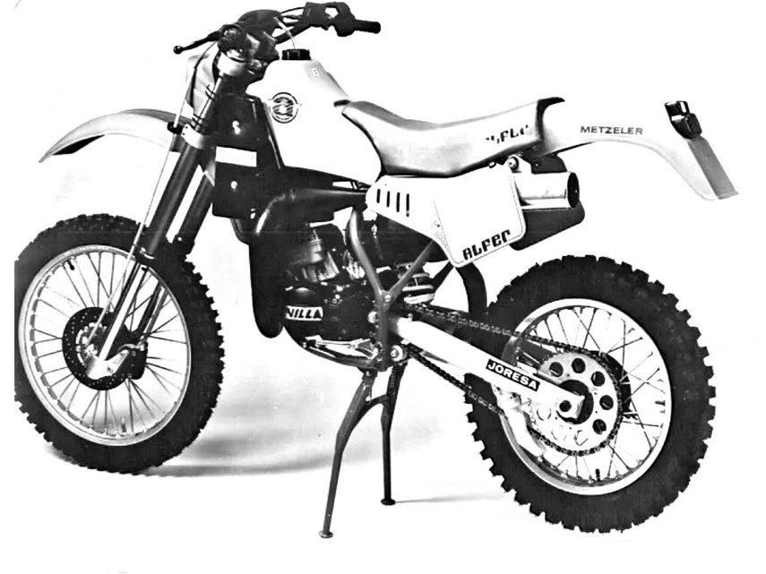 Moto del día: Alfer Enduro 125