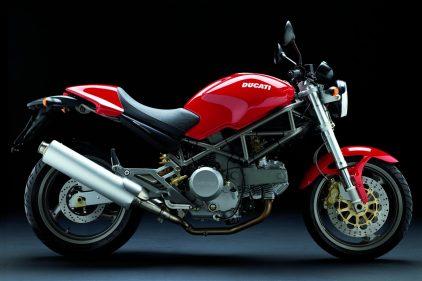 Ducati Monster 620 ie Red