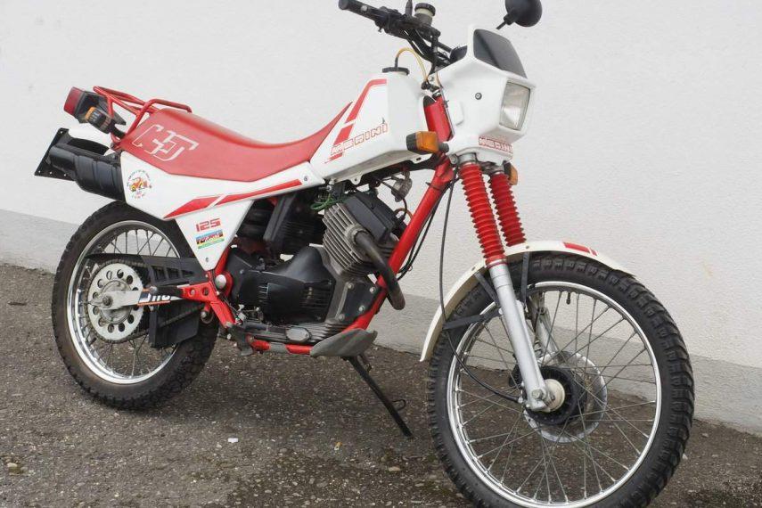 Moto del día: Moto Morini 125 KJ Kanguro