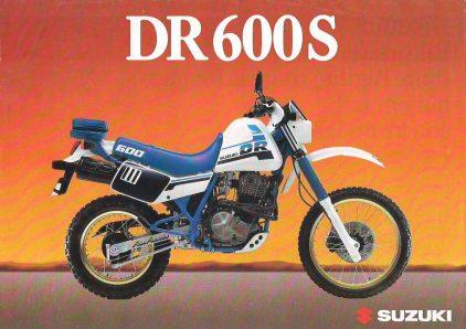 Suzuki DR 600 S 1