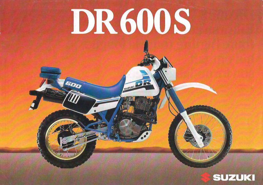 Moto del día: Suzuki DR 600 S
