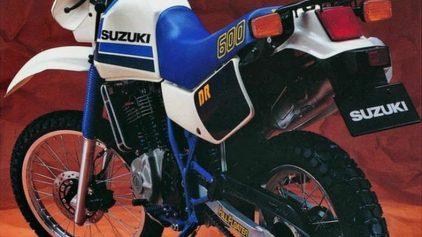 Suzuki DR 600 S 4