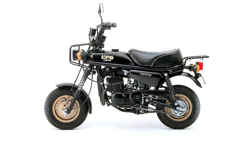 Moto del día: Suzuki EPO (PV 50)