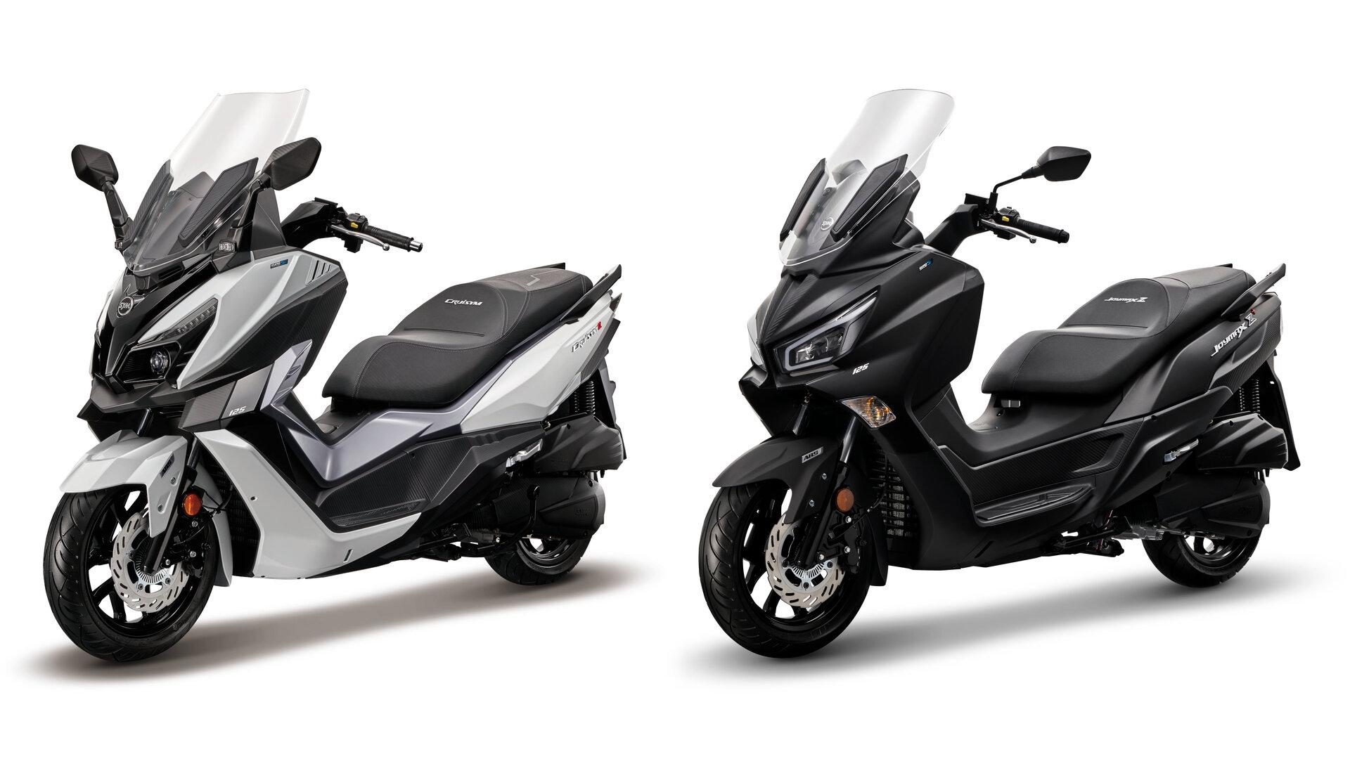 SYM refuerza su oferta de scooters GT 125 con dos novedades