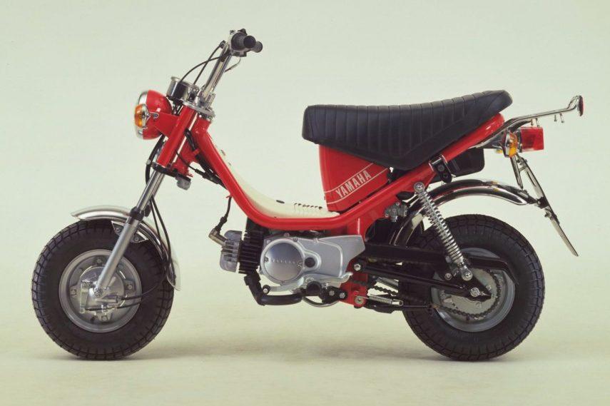 Moto del día: Yamaha LB50 Chappy