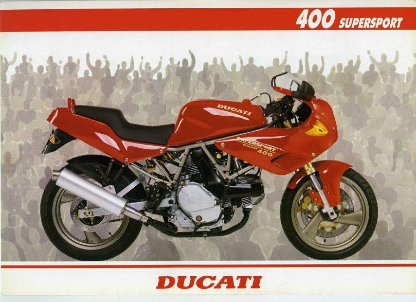 Moto del día: Ducati 400 SS Junior