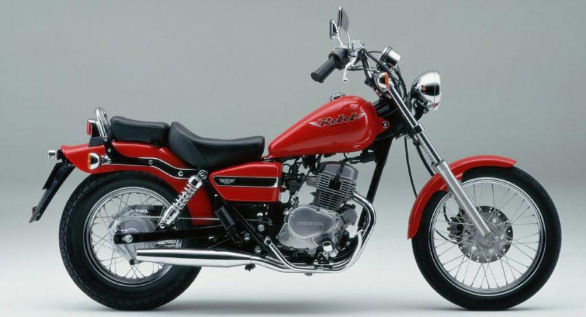 Honda CA 125 Rebel 1
