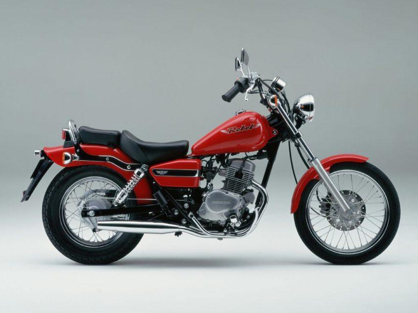 Moto del día: Honda CA 125 Rebel