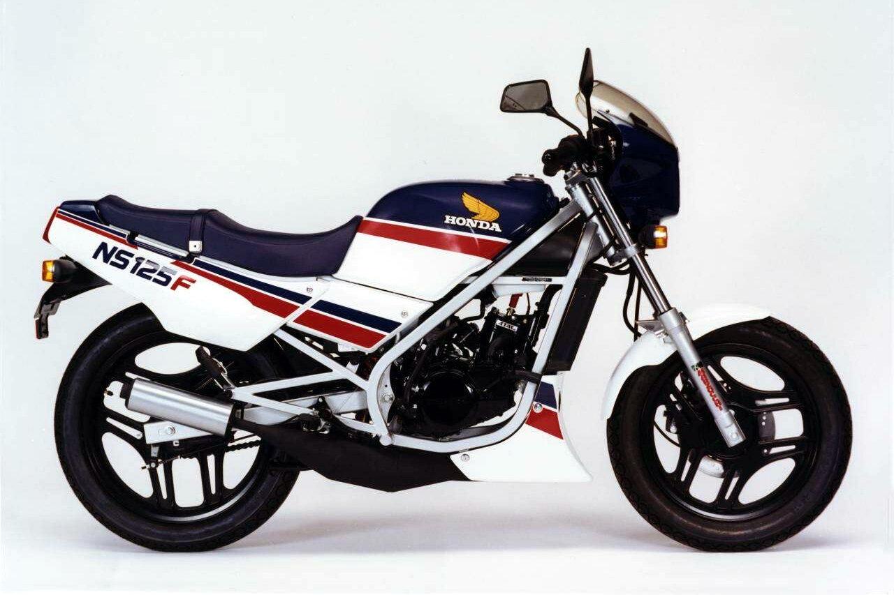 Moto del día: Honda NS 125 F