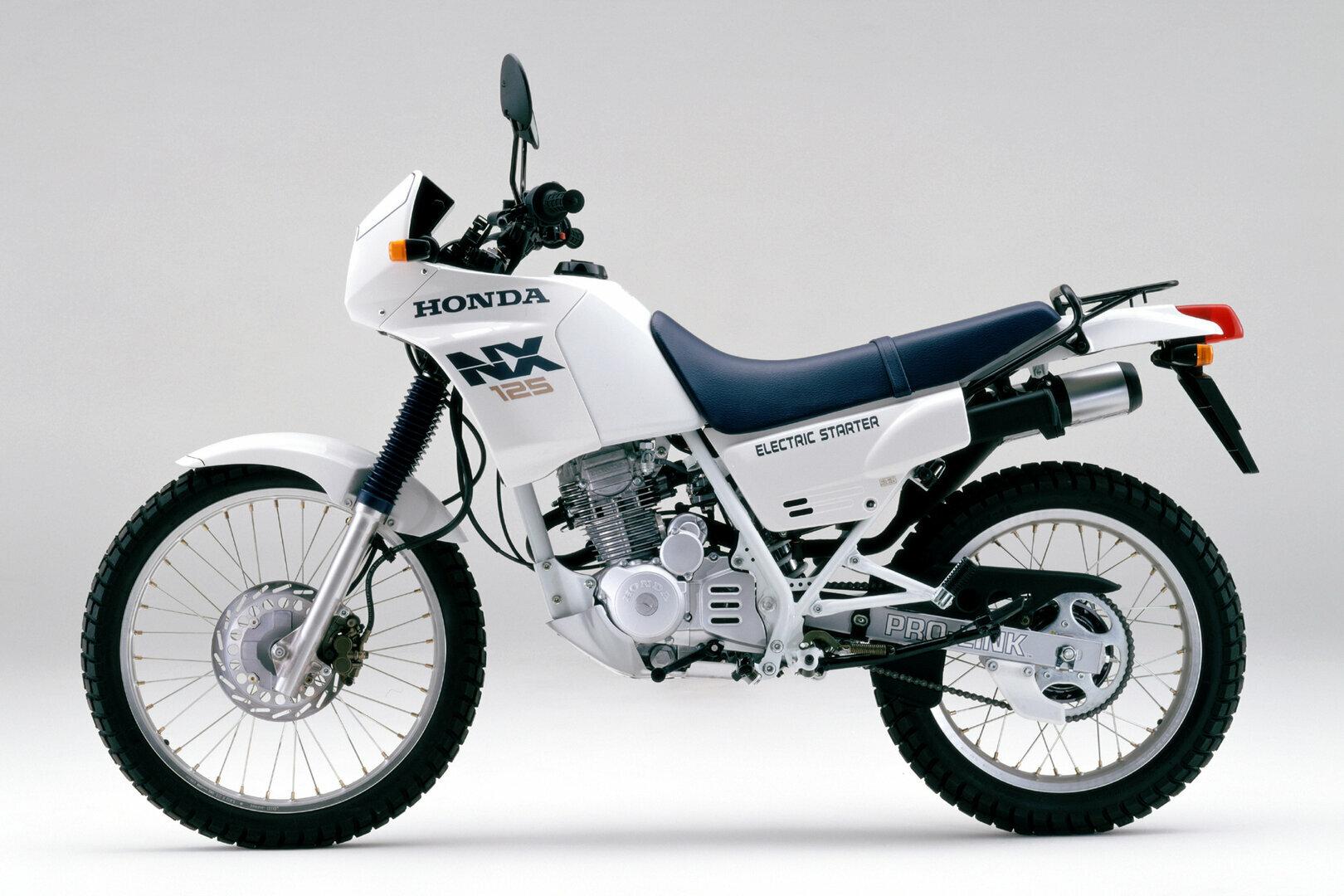 Moto del día: Honda NX 125