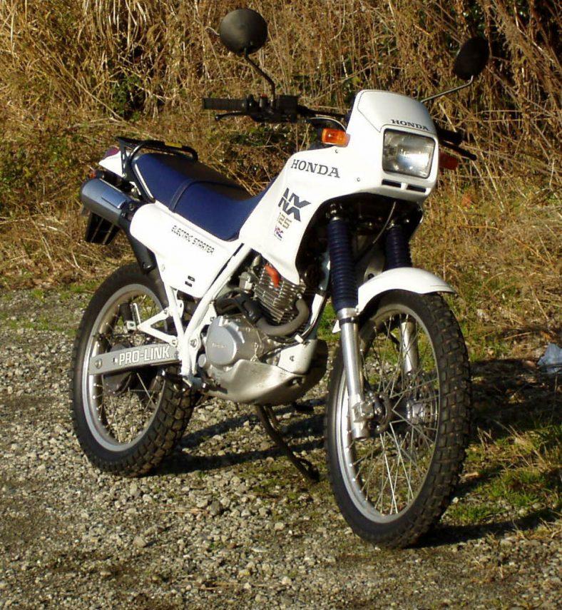 Honda NX 125 1988 3