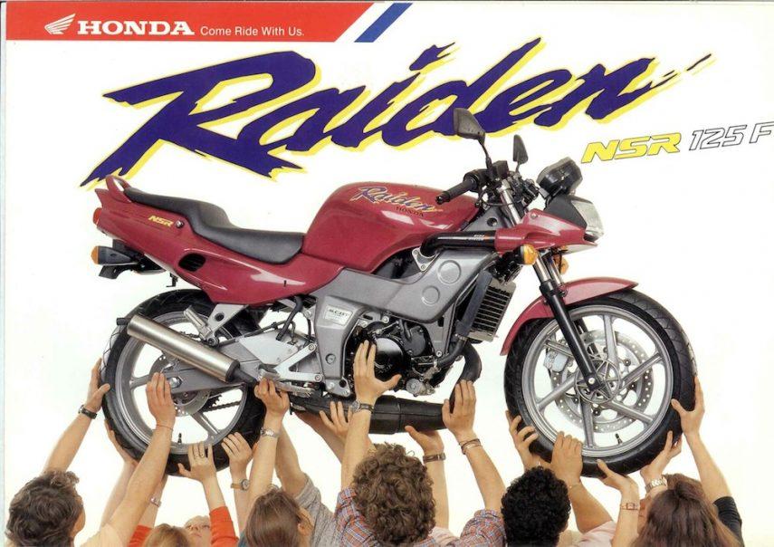 Moto del día: Honda NSR 125 F Raiden
