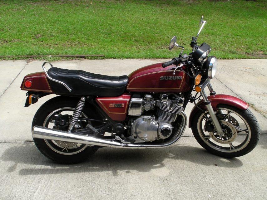Moto del día: Suzuki GS 1000 G