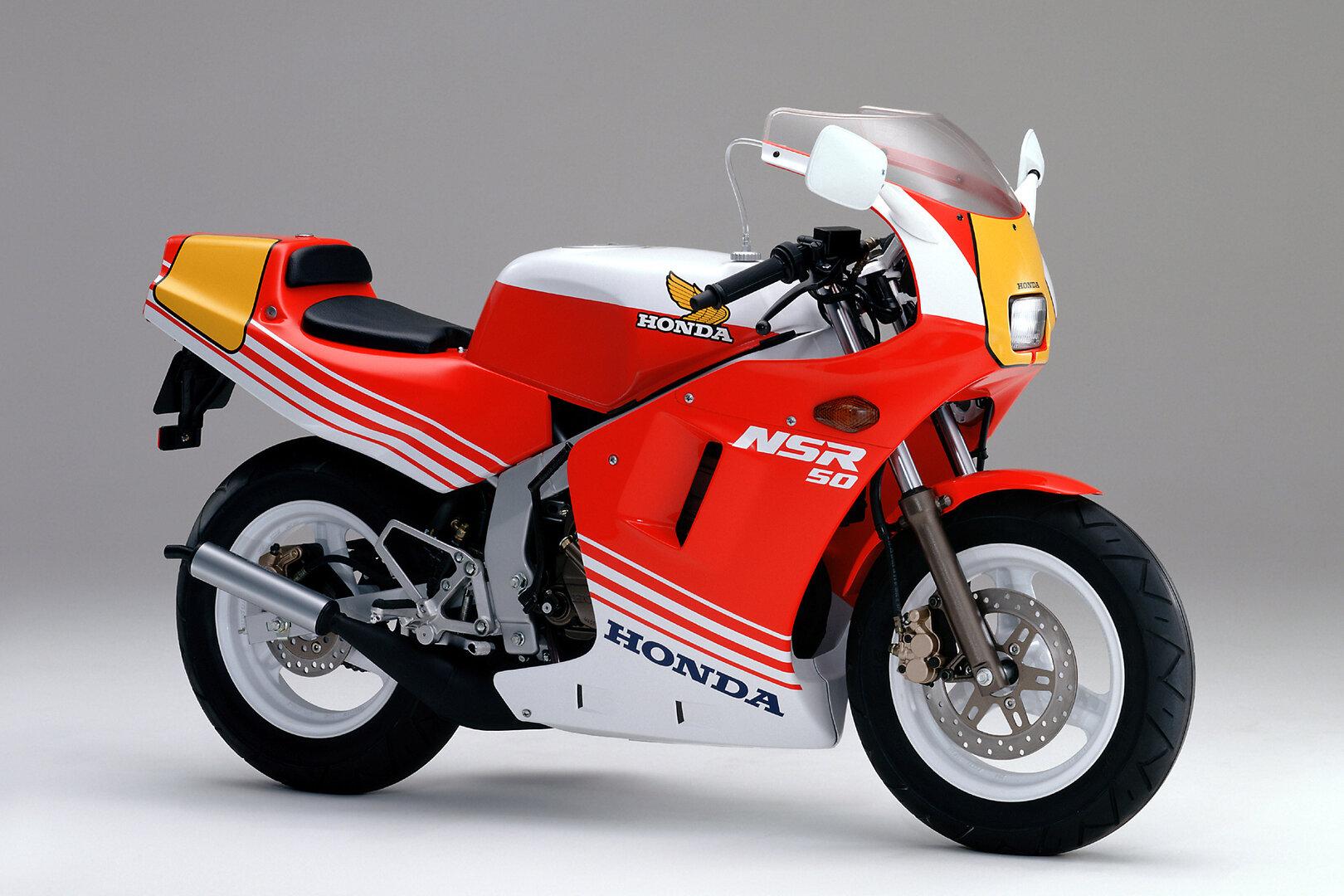 Moto del día: Honda NSR 50 (AC10) y NSR 80 (HC06)