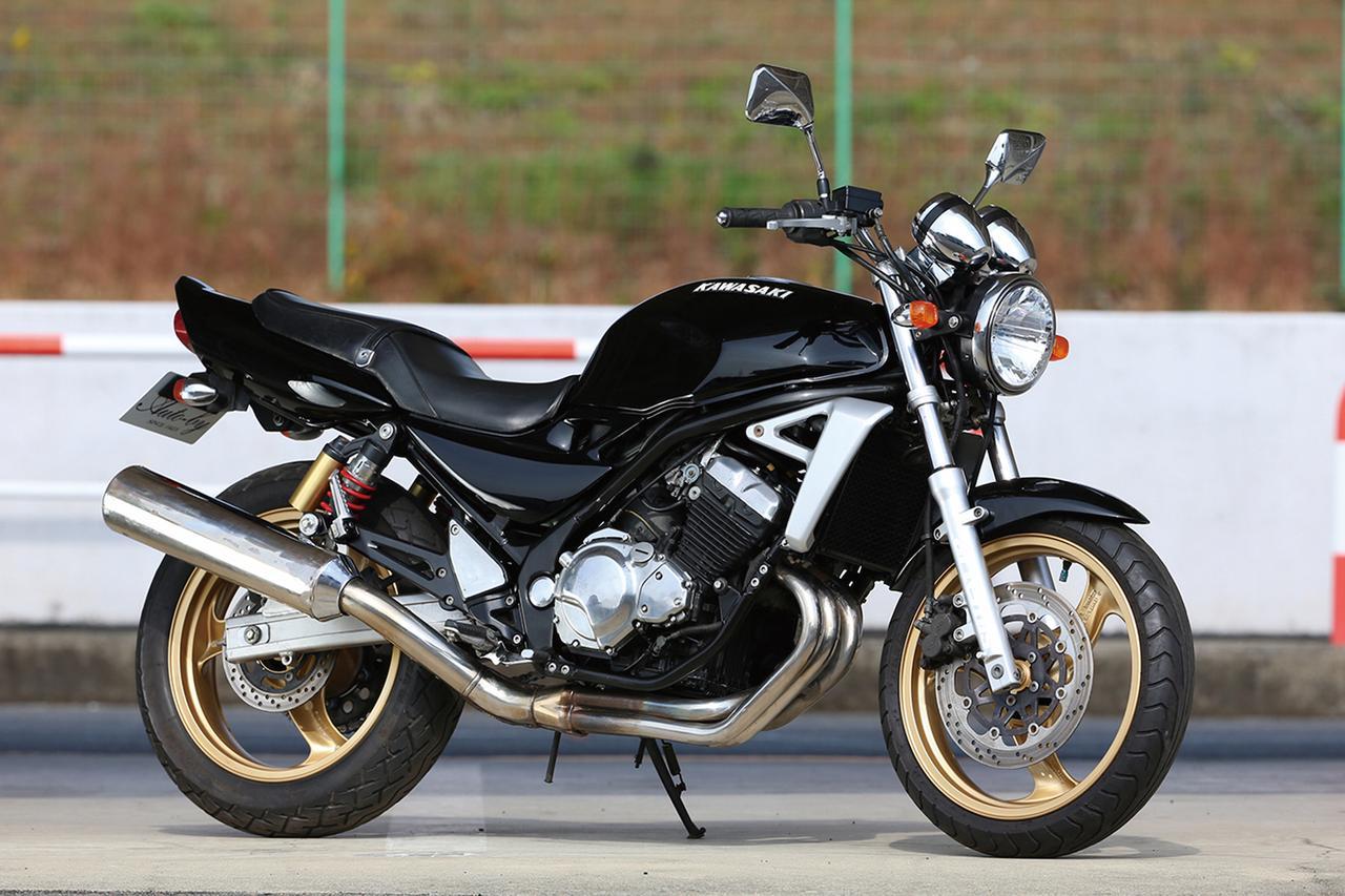 Moto del día: Kawasaki Balius ZR 250