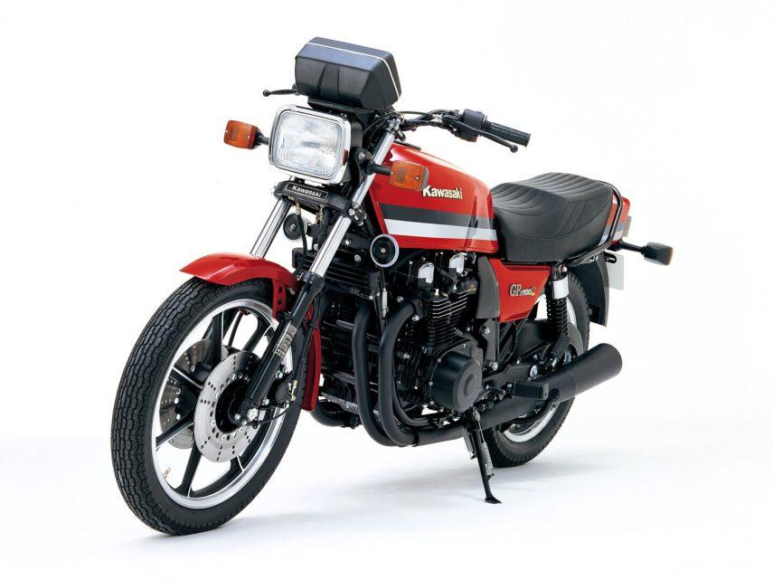 Moto del día: Kawasaki GPZ 1100 (Z1100GP, ZX1100)