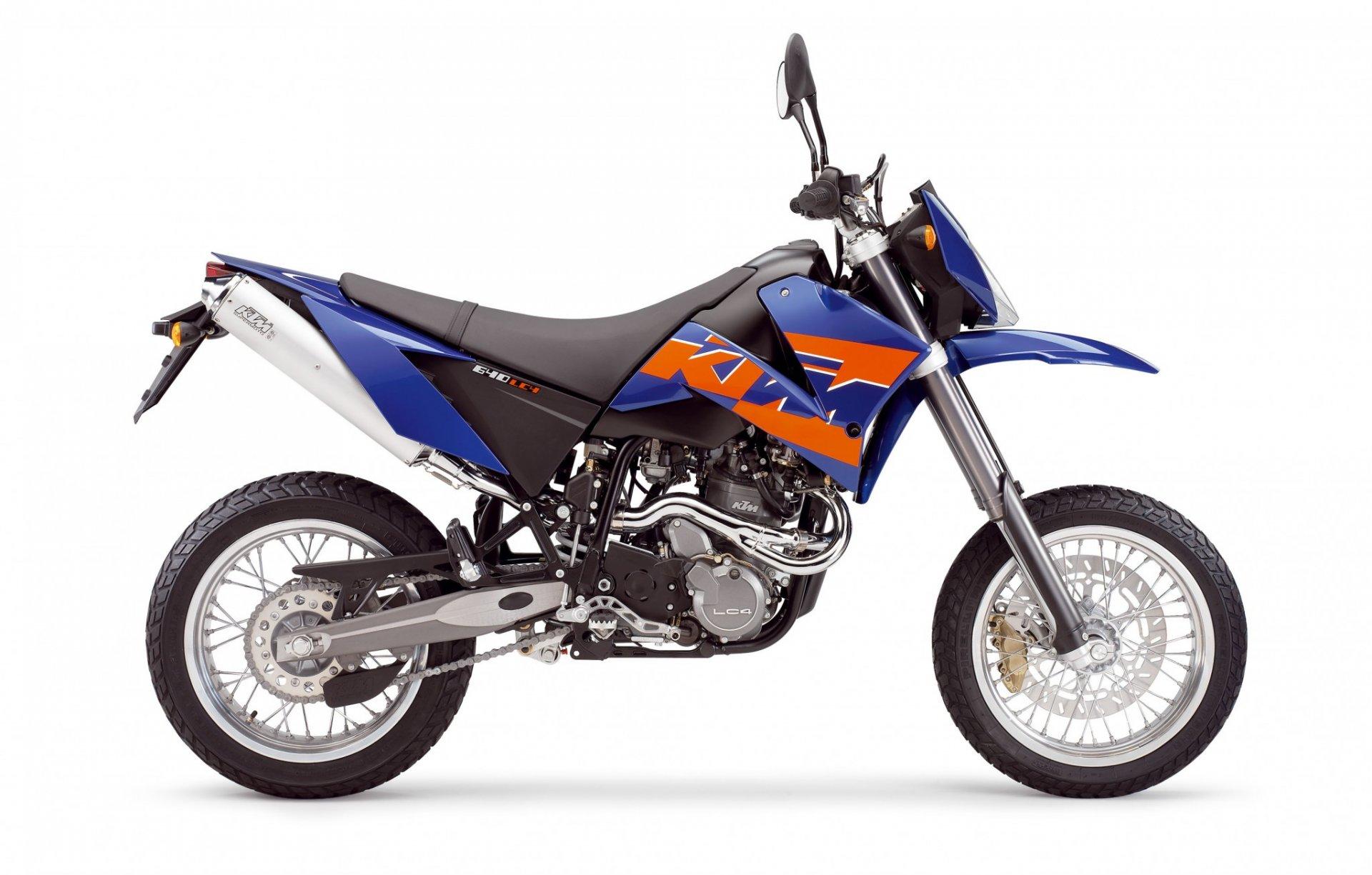 Moto del día: KTM 640 Supermoto