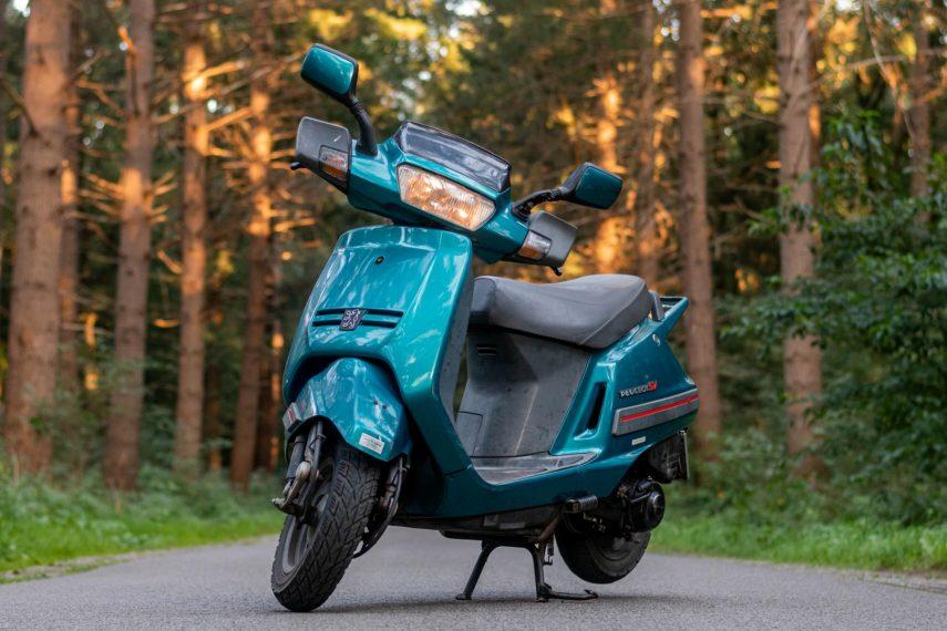 Moto del día: Peugeot SV 125