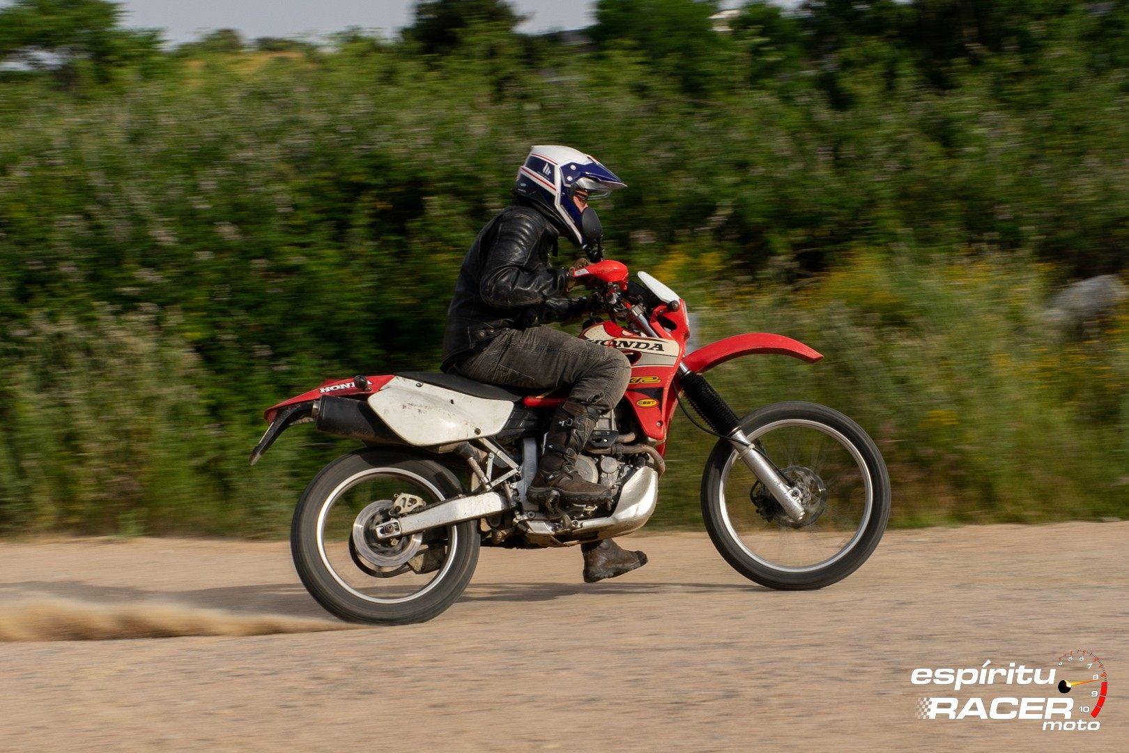 Prueba Honda XR 650 R 06