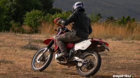 Prueba Honda XR 650 R 07