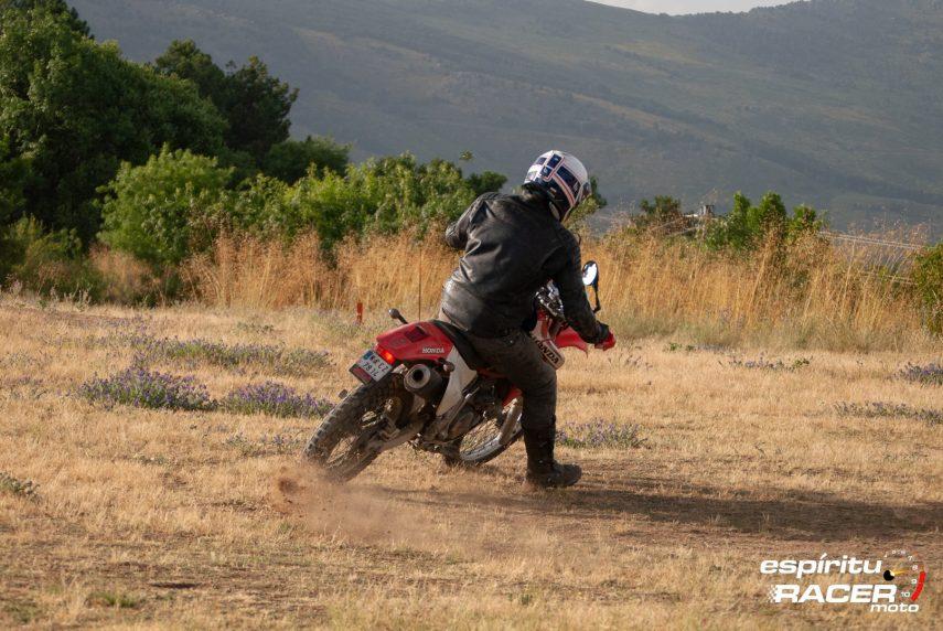Prueba Honda XR 650 R 09
