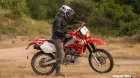 Prueba Honda XR 650 R 12
