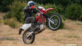 Prueba Honda XR 650 R 19
